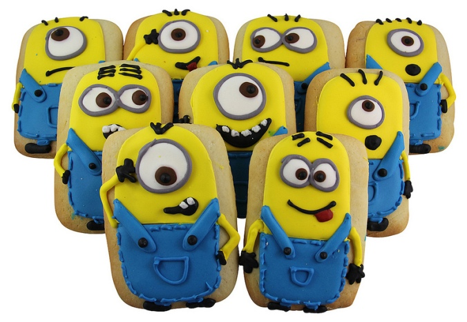 New cookies for you and your little Minions