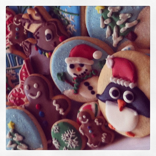Christmas cookie preview for #ewomennetwork