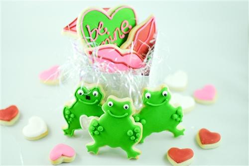 Frog Prince Sugar Cookies