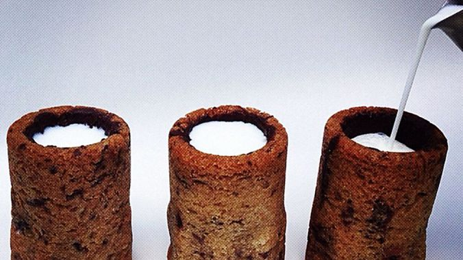 Cronut Inventor Dishes Out The Milk & Cookie Shot