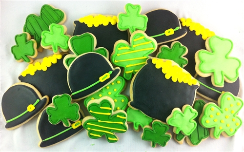 St. Patrick's Day Cookies Are Here!