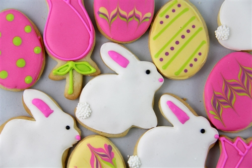 Bunny Cookies Available Until Easter