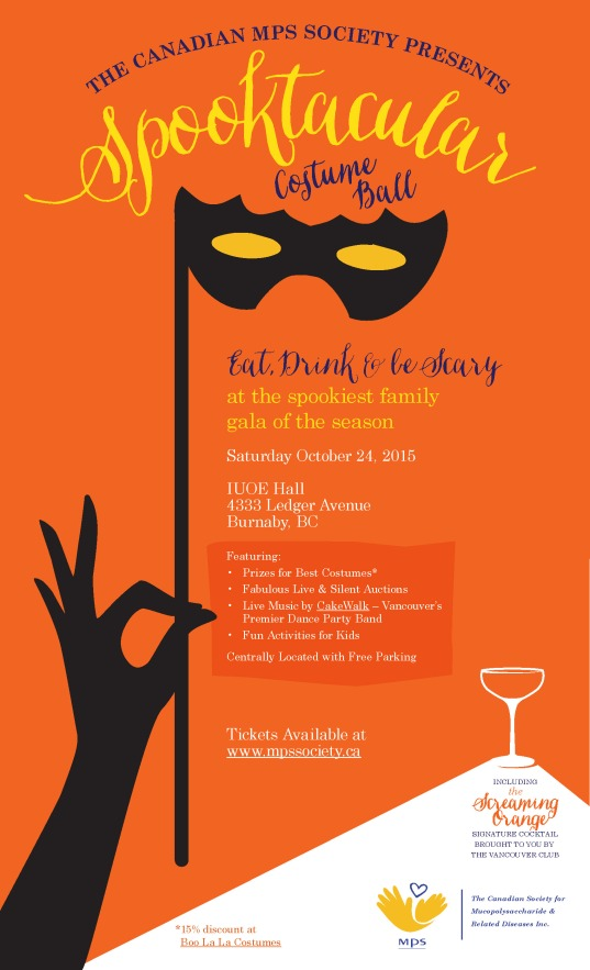MPS Spooktacular Costume Ball poster